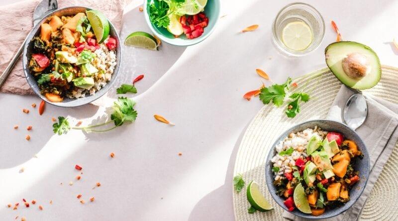 Salat med vandmelon